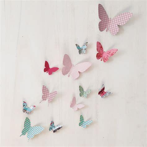 deco chambre papillon faire decoration papillon