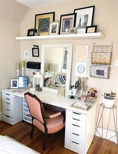 Pin by Jessica M on apt in 2019 | Bedroom desk, Small ...