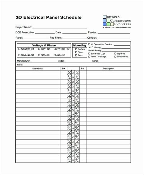 Breaker panel template electric circuit breaker panel directory. Circuit Breaker Labels Template in 2020 | Label templates, Schedule template, Printable label ...