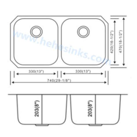 double kitchen sink dimensions double sink size kitchen befon for