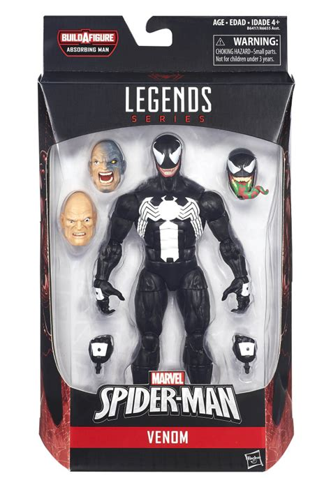 marvel legend series black panther classic venom marvel legends infinite figure