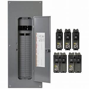 Square D Panel Breaker Box Wiring Diagram