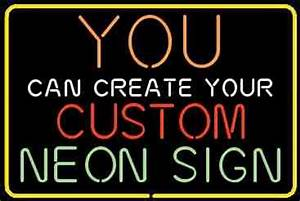 Personalized Neon Signs customized by you Make it the way