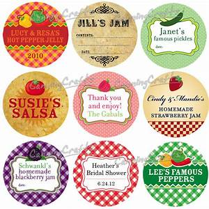colorful adhesive canning jar labels custom canning jar With custom salsa labels