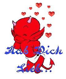 animated gif  romantic devil   images gifmania