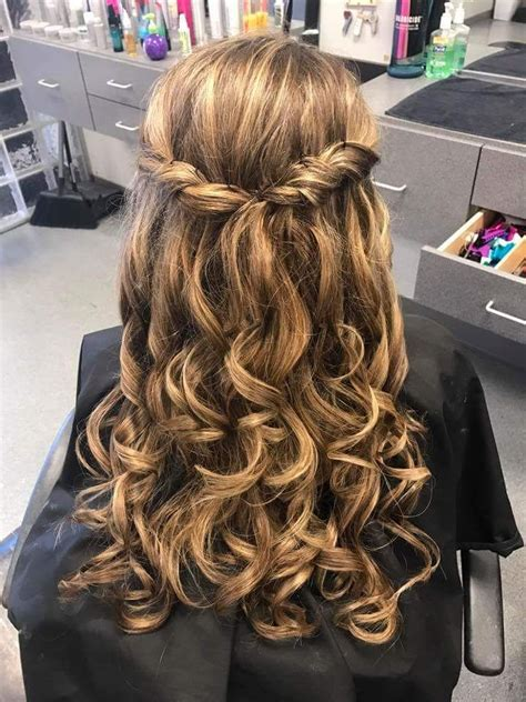 gorgeous graduation party hairstyle   length hair graduation party hairstyles