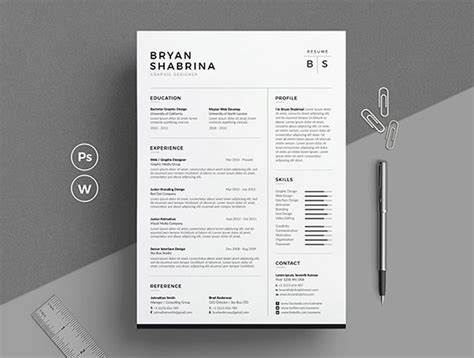 Best Resume Designs by Best Of 2017 Stylish Professional Cv Resume Templates