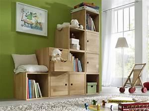 Stauraum Für Kinderzimmer : flexibles w rfelsystem aus massiver buche kids fantasy ~ Sanjose-hotels-ca.com Haus und Dekorationen
