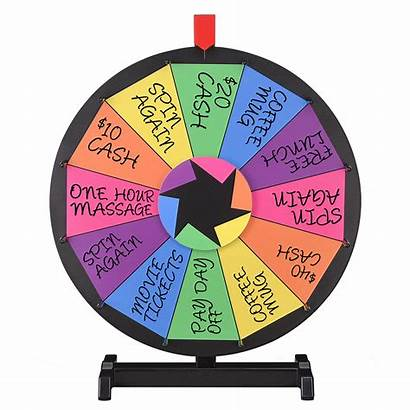 Wheel Fortune Prize Spinning Spin Tabletop Party