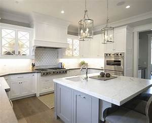 Neutral home with inspiring white gray interiors home for Kitchen colors with white cabinets with joss and main wall art
