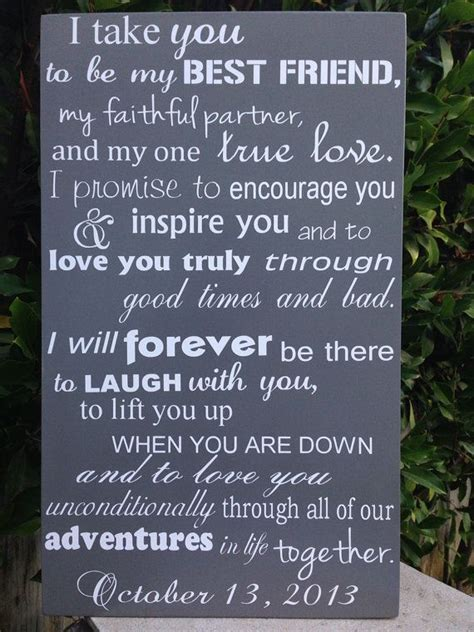 wedding vows template wedding vows exles for and for him