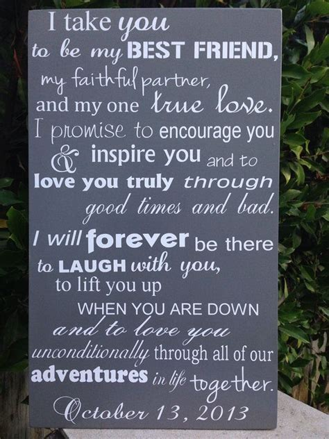 Wedding Vow Promises To Have And To Hold Writing Your Wedding