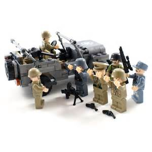 WW2 US Army Jeep Military Building Blocks - Compatible With Lego Bricks