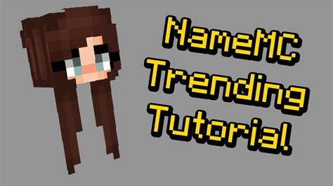 trendy hair   minecraft skin youtube