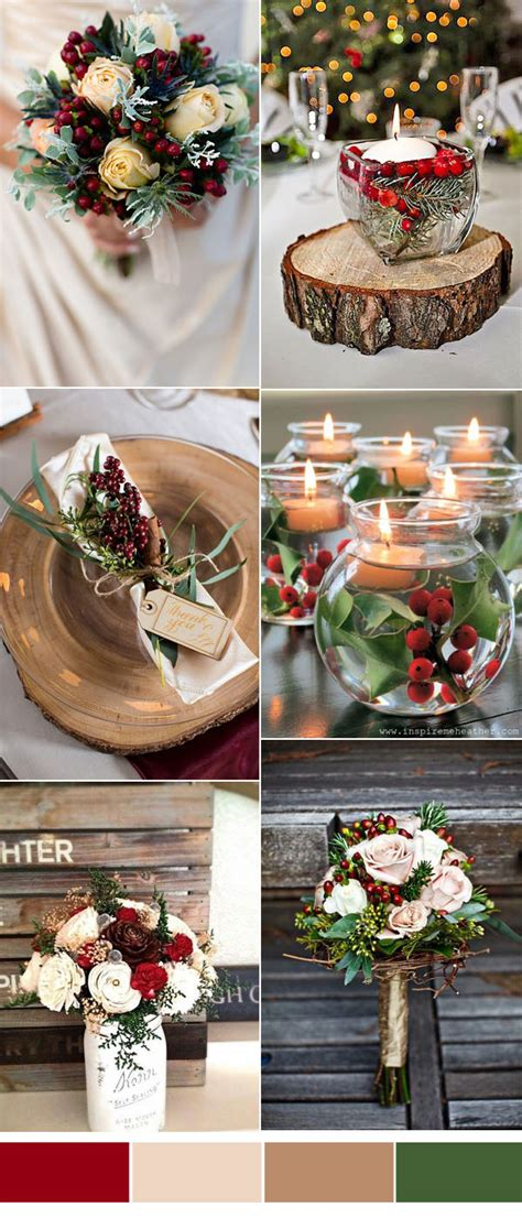 Cozy Christmas Festive Wedding Ideas For Winter Brides