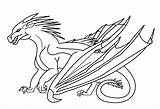 Wings Fire Base Dragon Coloring Pages Head Icewing Seawing Jade Mountain Outline Dragons Academy Wing Drawing Train Template Forum Schoolofdragons sketch template