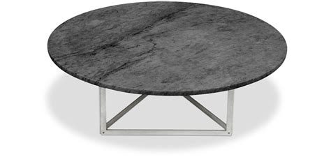 table basse ronde laquee pk56 coffee table marble poul kjaerholm style coffee tables