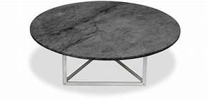 Table Basse Ronde Marbre : table basse pk56 ronde marbre poul kjaerholm ~ Teatrodelosmanantiales.com Idées de Décoration