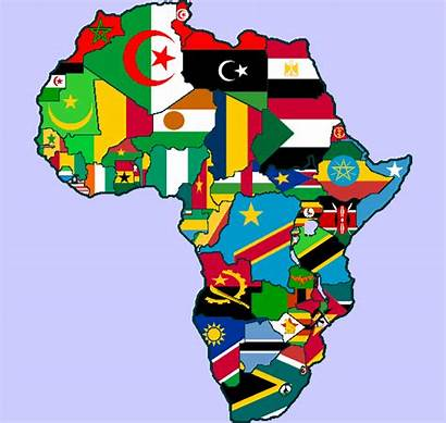 Africa Flag Map Reading Transconflict Flags African