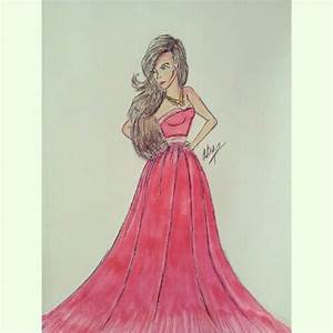 Another possible prom dress? | Alex Diep Fashion Sketches