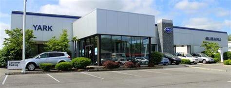 Yark Subaru car dealership in Toledo, OH 43615 1804