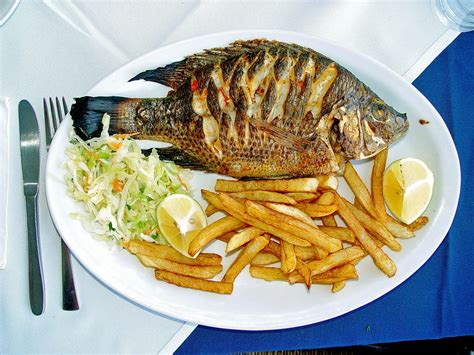 cuisine inventive fish as food
