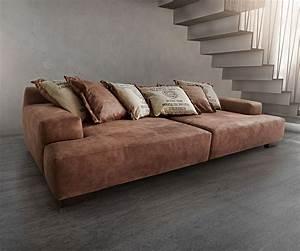 Schlafsofa Leder Braun : big sofa cabana 304x140 cm braun vintage look by ultsch ~ A.2002-acura-tl-radio.info Haus und Dekorationen