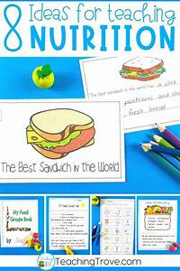 Ideas For Teaching A Food And Nutrition Unit In 2020  With
