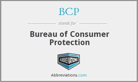 bcp bureau of consumer protection