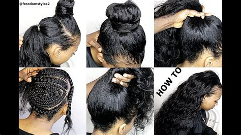 Looking Sew In Weave Hairstyles by How To Do Looking Sewin Weave