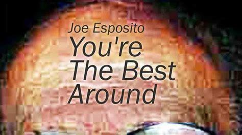Joe Esposito You're The Best Around 16 kbps (25