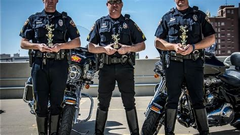 Apd Motorcycle Cops Show Their Skills During Competition