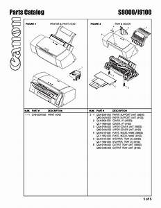 Canon I9100 S9000 Parts Service Manual Download