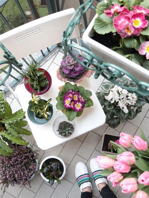 allestire un terrazzo la terrazza in fiore pronta per la primavera il