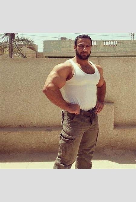 alaa jabbar (iraq)   Big Muscle Bears   Pinterest   Muscle bear and Big muscles