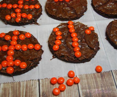 basketball brownie cookies   printables