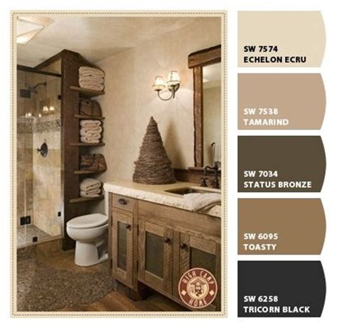 Rustic Bathroom Colors by Best 25 Rustic Paint Colors Ideas On Rustic
