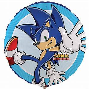 Sonic the Hedgehog Foil Balloon BirthdayExpress com