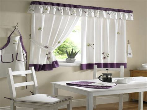 Kitchen curtains, sheer curtains with hummingbird design