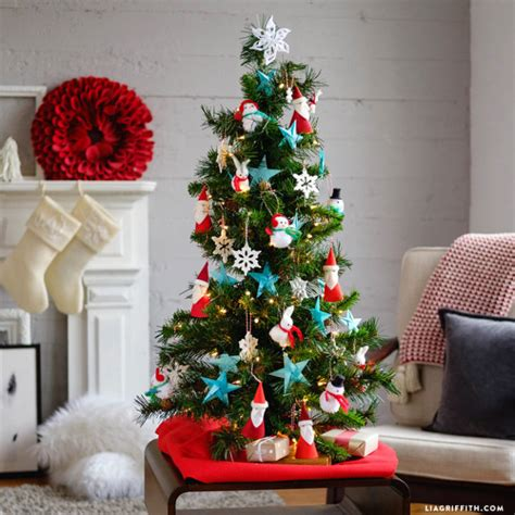 simple kids christmas tree ideas lia griffith