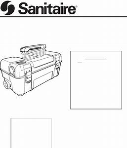 Sanitaire Vacuum Cleaner 1040 User Guide