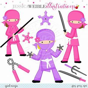 Ninja Girl Clipart - Clipart Suggest