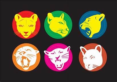 Cougar Mascot Vectors Clipart Logos Vecteezy Silhouette