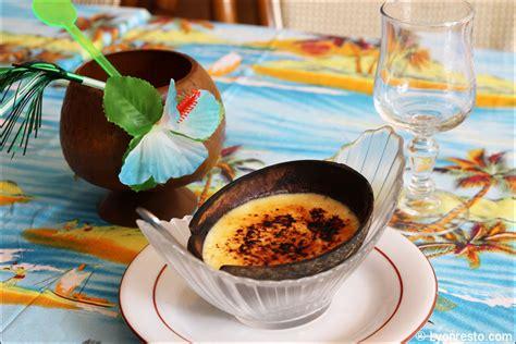 cuisine des iles le restaurant des iles restaurant lyon menu vidéo