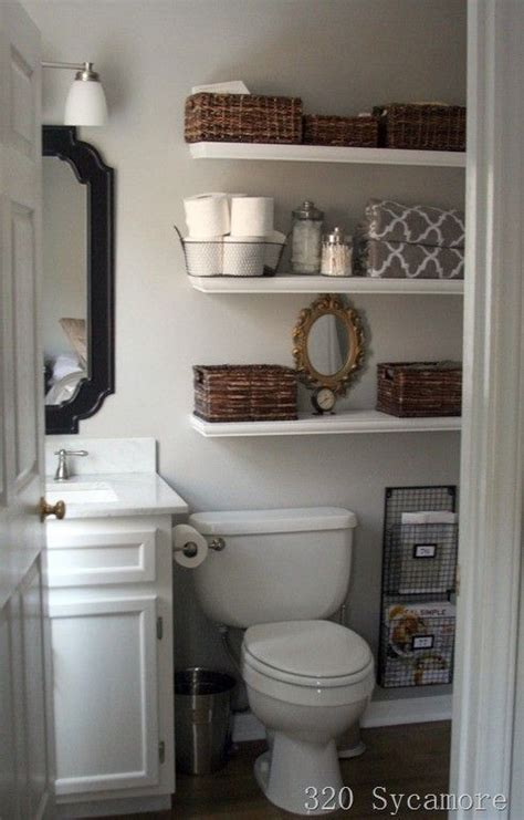 Storage Ideas For Small Bathrooms With No Cabinets by 25 Best Ideas About Small Bathroom Decorating On