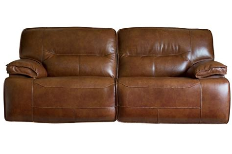 Leather Power Sofa leather power reclining sofa at gardner white