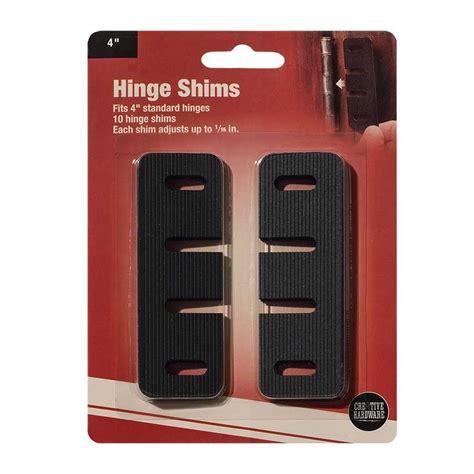 door hinge shims precision exterior door hinge shim 10 pack