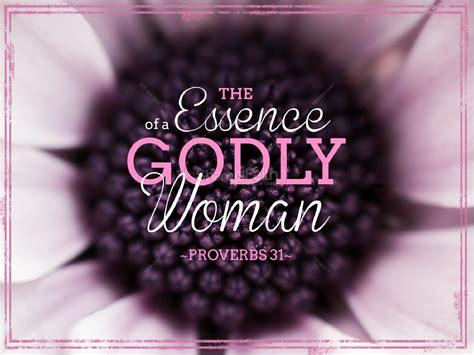 godly woman church powerpoint