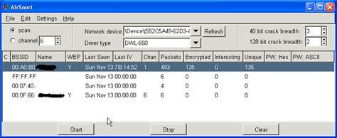 airsnort  windows  freeware