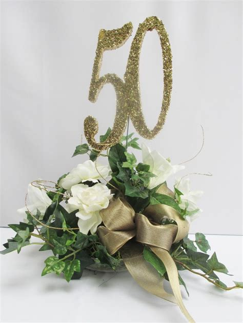 ideas   anniversary centerpieces